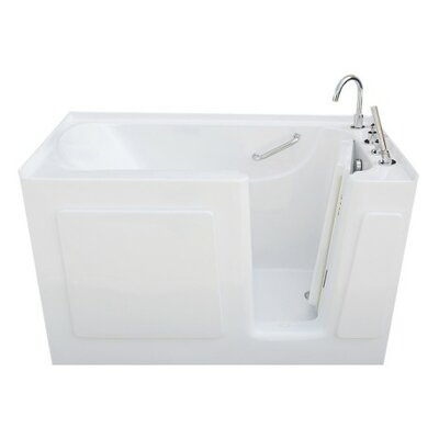47 x 30 Soaking Bathtub Drain Location: Left Drain