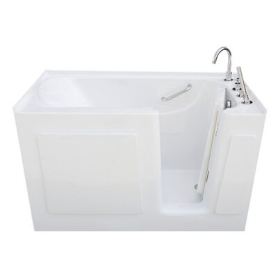 47 x 30 Soaking Bathtub Drain Location: Right Side Drain