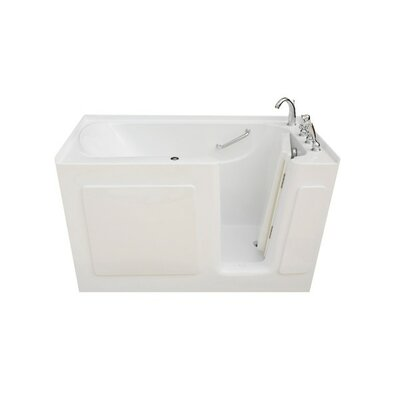 47 x 30 x 38 Walk In Whirlpool Drain Location: Right
