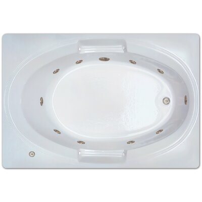 60 x 42 Whirlpool Drain Location: Left