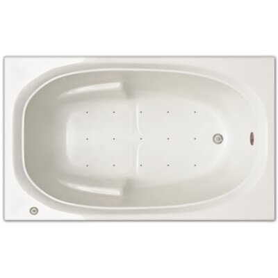 60 x 36 Air Tub Drain Location: Left Drain