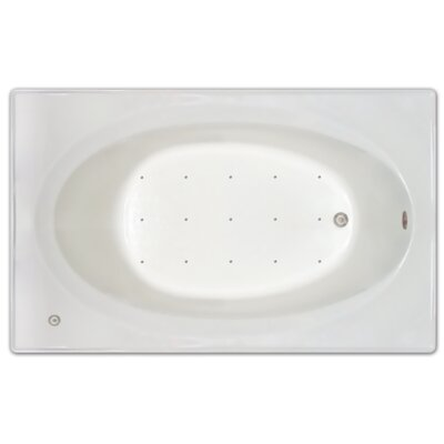 72 x 42 Air Tub Drain Location: Right Drain
