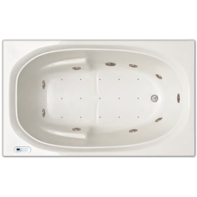 60 x 36 Whirlpool Drain Location: Left