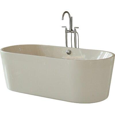 69.5 x 31.25 Soaking Bathtub