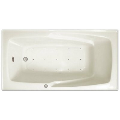 60 x 32 Air Tub Drain Location: Right Drain