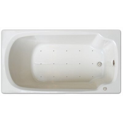 60 x 32 Air Tub Drain Location: Left Drain