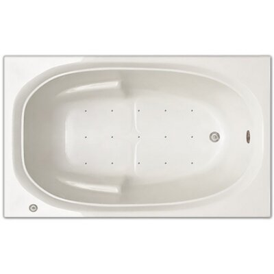 60 x 36 Air Tub Drain Location: Right Drain