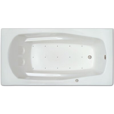 60 x 42 Air Tub Drain Location: Right Drain
