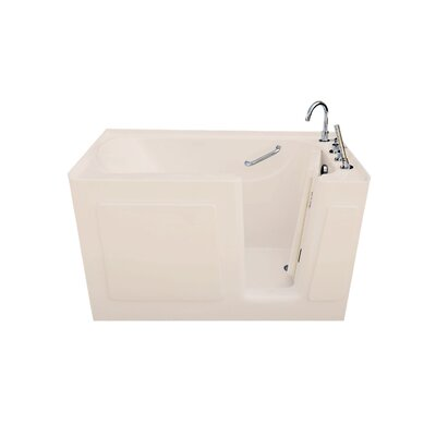 47 x 30 Alcove Soaking Bathtub Drain Location: Left Drain & Door