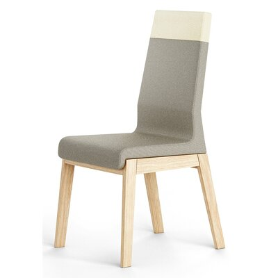 Kyla Parsons Chair Upholstery: Light Gray