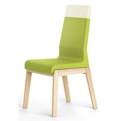 Kyla Parsons Chair Upholstery: Green