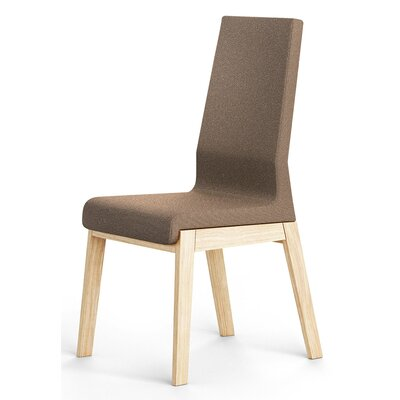 Kyla Parson Chair Finish: Brown
