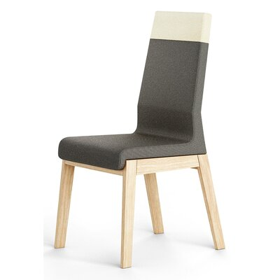 Kyla Parsons Chair Upholstery: Dark Gray
