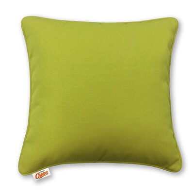 Stansell Outdoor Throw Pillow Color: Green