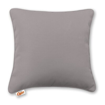 Stansell Outdoor Throw Pillow Color: Gray