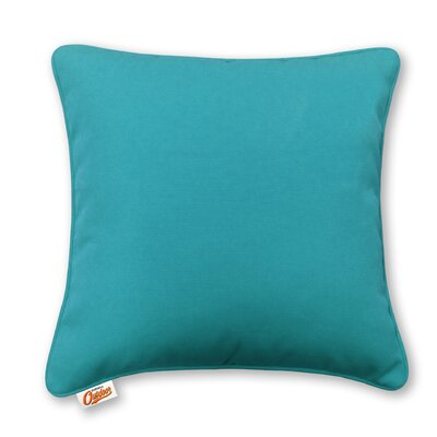 Stansell Outdoor Throw Pillow Color: Blue