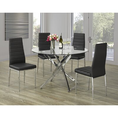 Pritt 5 Piece Dining Set