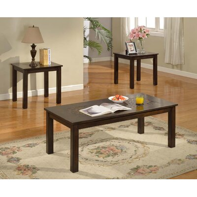 Bruckner 3 Piece Coffee Table Set
