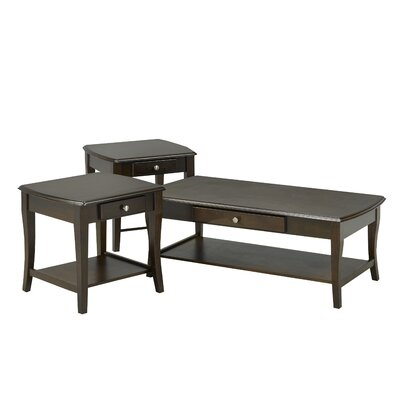 Steffens 3 Piece Coffee Table Set
