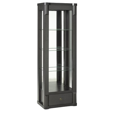 Vadim Curio Cabinet with Top Light
