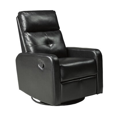Hyndi Manual Recline Rocker Recliner with Swivel