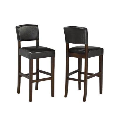 29 Bar Stool Upholstery: Espresso
