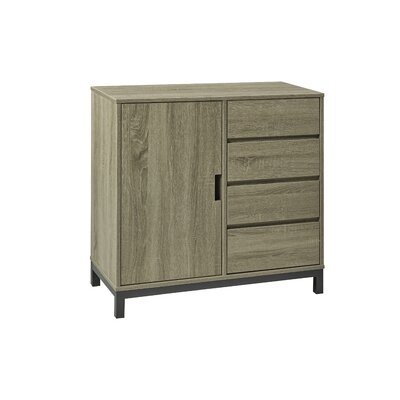 Accent Server Finish: Dark Taupe