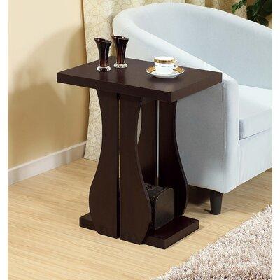 Owen Artistic Vase Inspired End Table