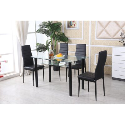 Faber 5 Piece Dining Set