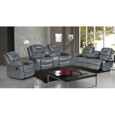 Addison 3 Piece Reclining Living Room Set