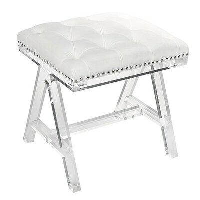 Belfield Ottoman Upholstery: Cream
