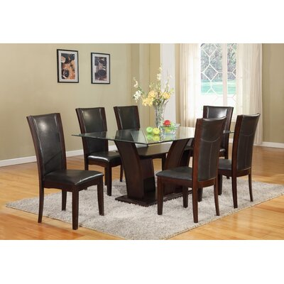 Bruening 7 Piece Dining Set