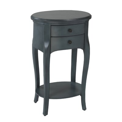 End Table Finish: Blue