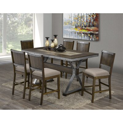 Chupp 7 Piece Pub Table Set