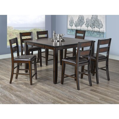 Leanna 6 Piece Pub Table Set