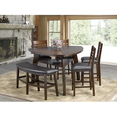 Tisdale 6 Piece Pub Table Set