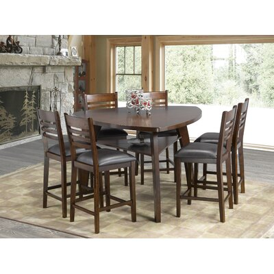 Tisdale 7 Piece Pub Table Set