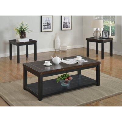 Coastal 3 Piece Coffee Table Set