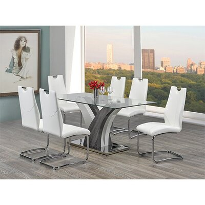 Donatello 7 Piece Dining Set