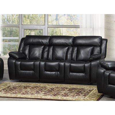 Kaity Reclining Sofa with Fold Down Tray