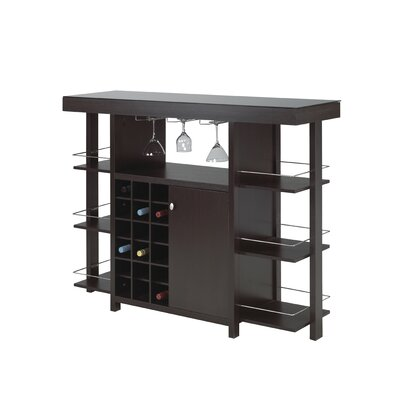 Anteus Bar with Wine Storage