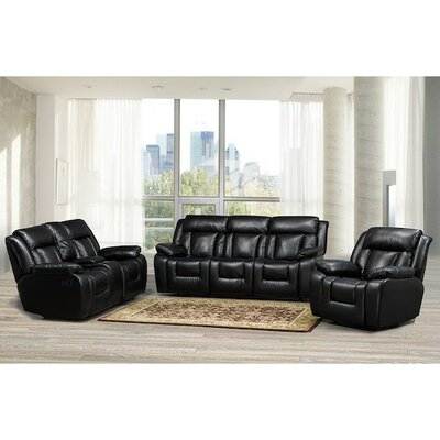 Kaity 3 Piece Living Room Set