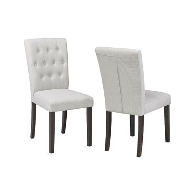 Ohlman Tufted Side Chair Upholstery: Beige