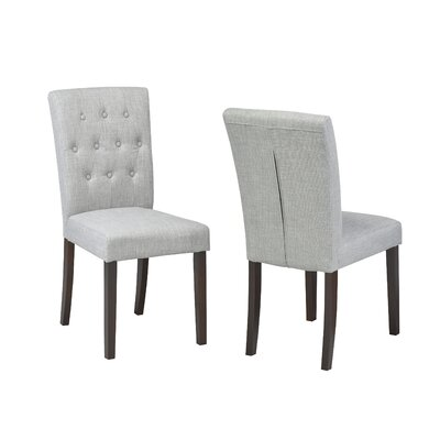 Ohlman Tufted Side Chair Upholstery: Gray
