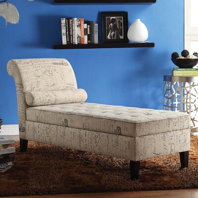 Abdallah Chaise with Storage