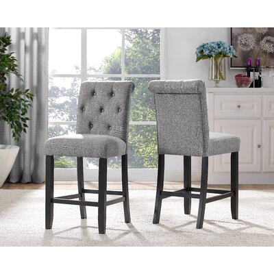 Niall Side Chair Upholstery: Gray