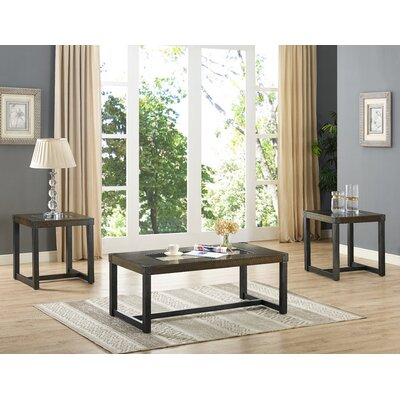 Meryl 3 Piece Coffee Table Set