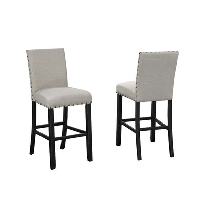 Charandeep 29 Bar Stool Upholstery: Beige