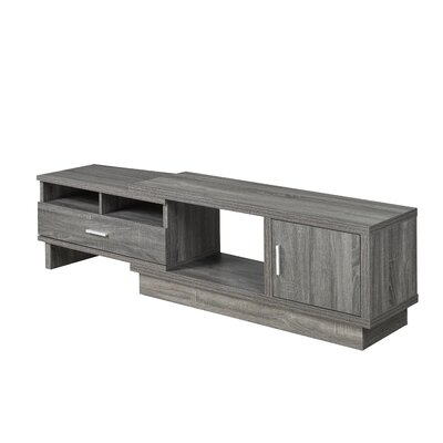 Busselton Expandable 77.75 TV Stand Color: Gray