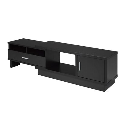Busselton Expandable 77.75 TV Stand Color: Dark Cherry